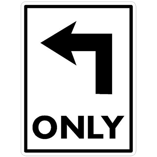 Direction Only Arrow