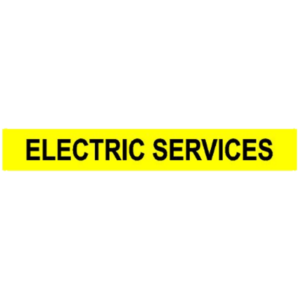 ELECTRIC SERVICES VINYL DECAL