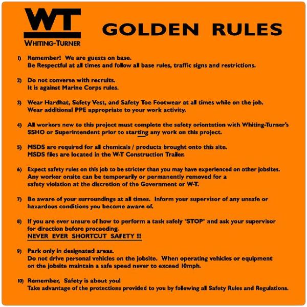 GOLDEN-RULES