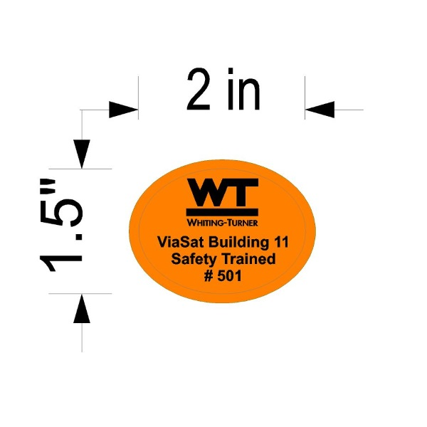 Hard Hat Decals - Serialized