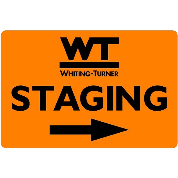 STAGING (with arrow)