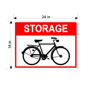 Storage Bicycle (With Bicycle Graphics)