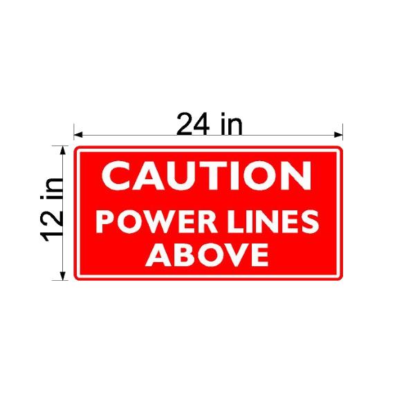 Power Line - Caution