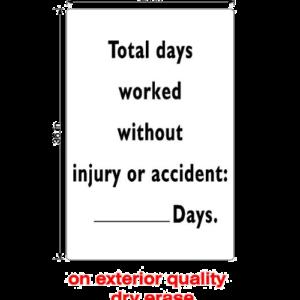No Accident (Dry Erase)