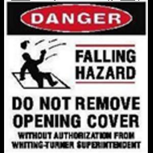 DANGER - Falling Hazard