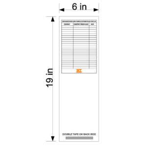 Scaffold Sign-up Sheet