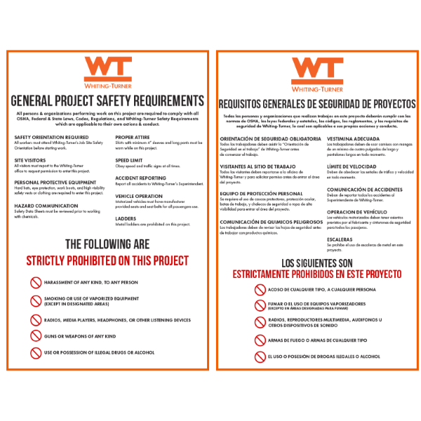 General Project Safety Requirements